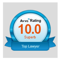 10.0 Superb Avvo Rating - Top Attorney Personal Injury
